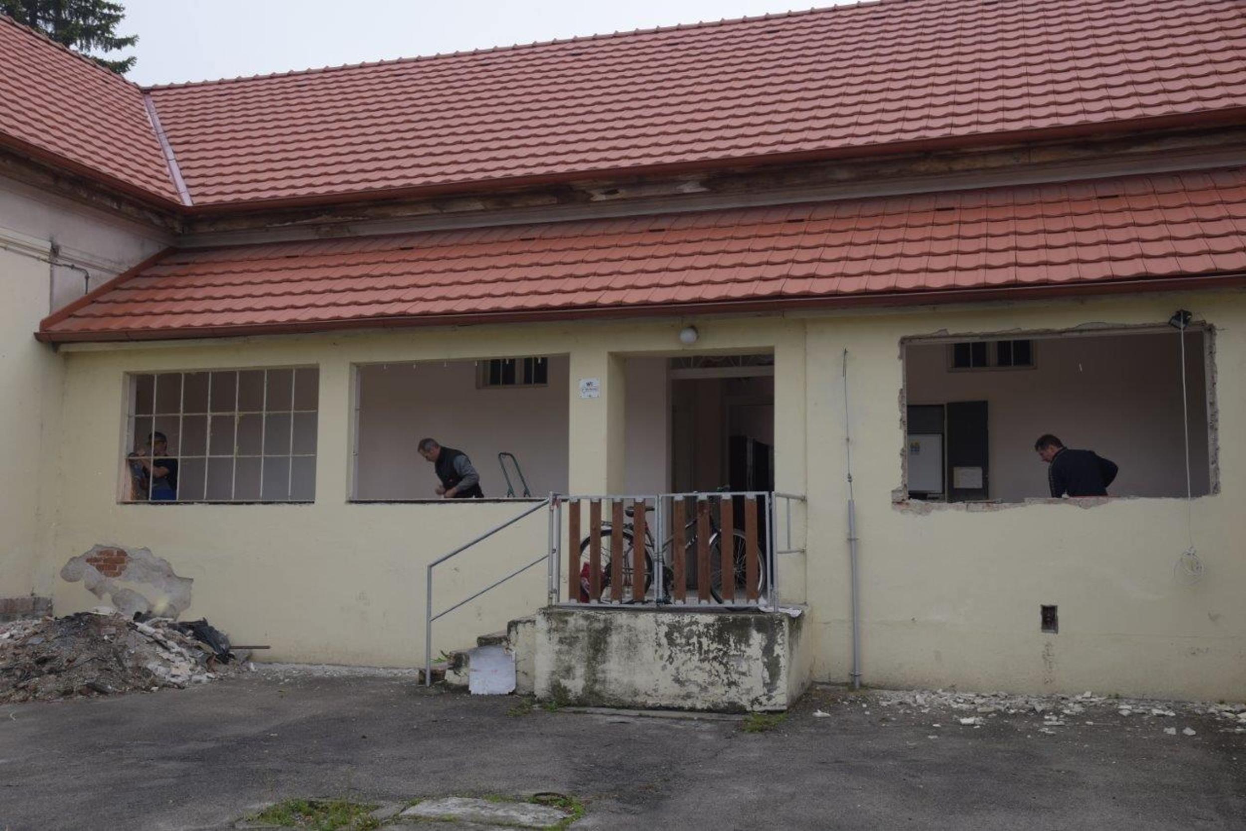 Oprava pastoračného centra