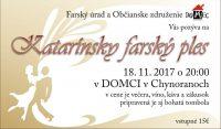 Katarínsky farský ples 18.11.2017 Chynorany
