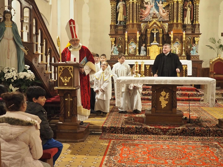 sv. Mikuláš v kostole - 2018