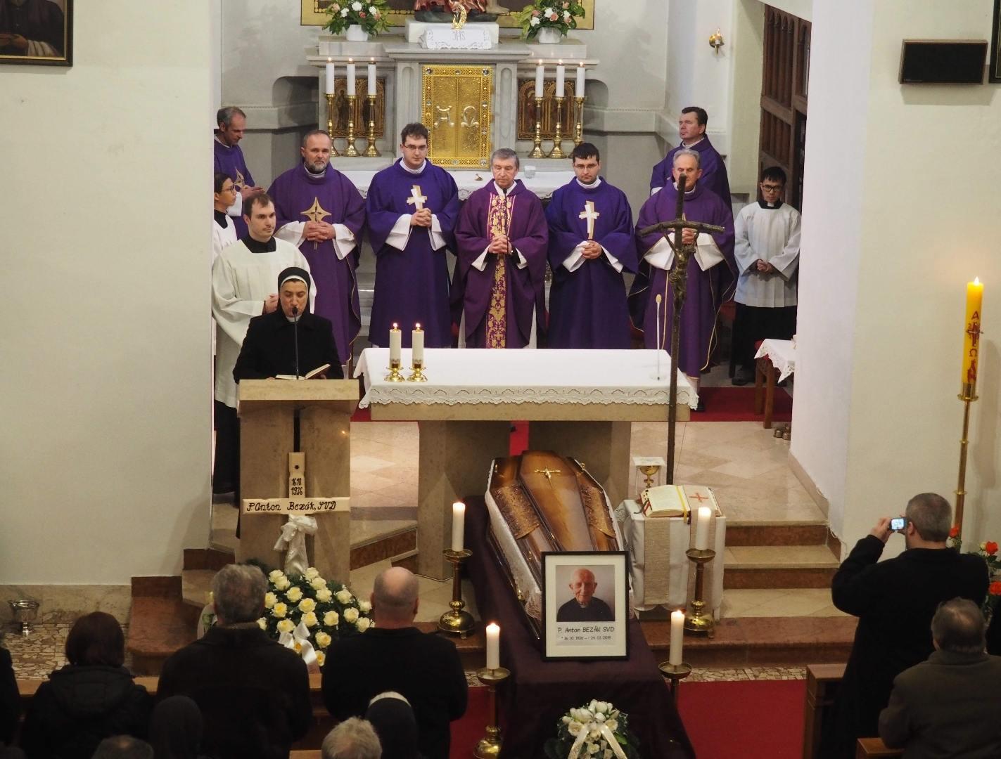 Pohreb vdp. Antona Bezáka - 29. januára 2019