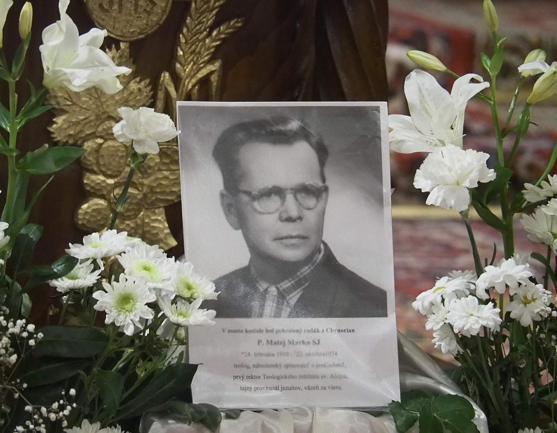 Posvätenie pamätnej tabule P. Matej Marko