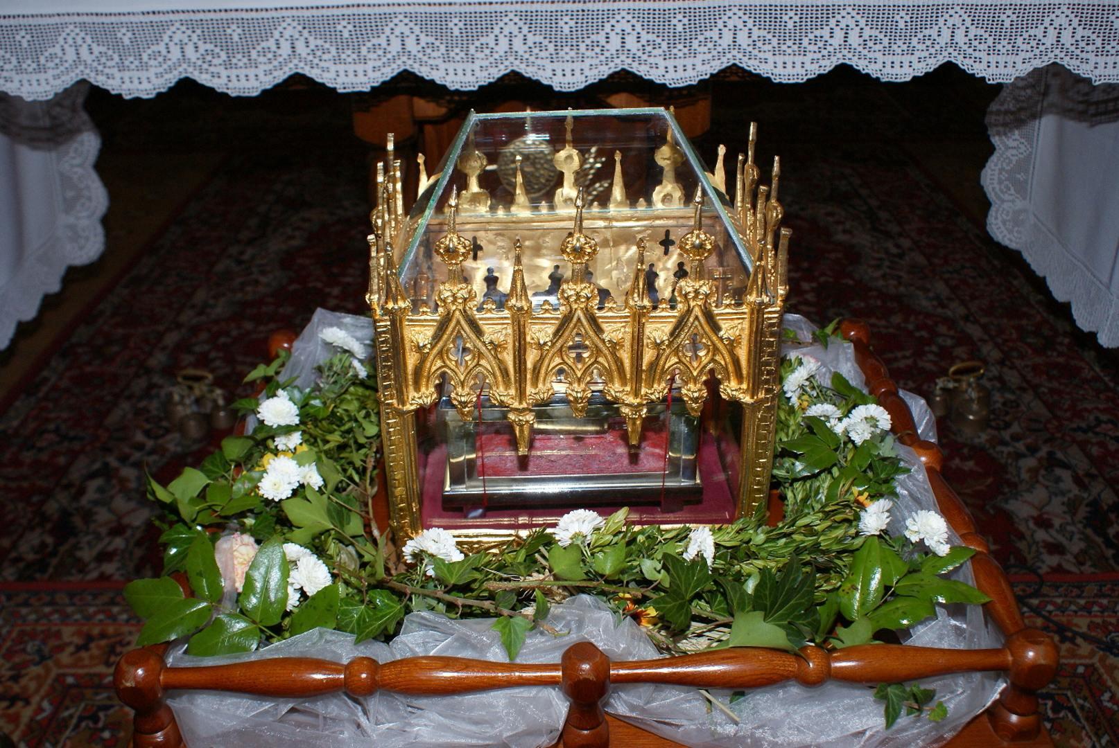 Relikvia sv. Cyrila v Chynoranoch