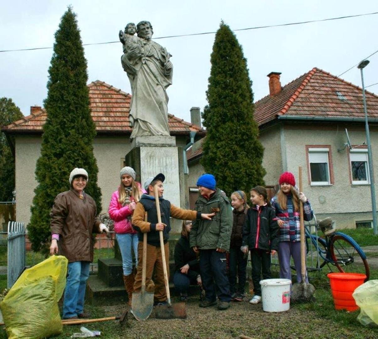 Brigáda pri soche sv. Jozefa - 2014
