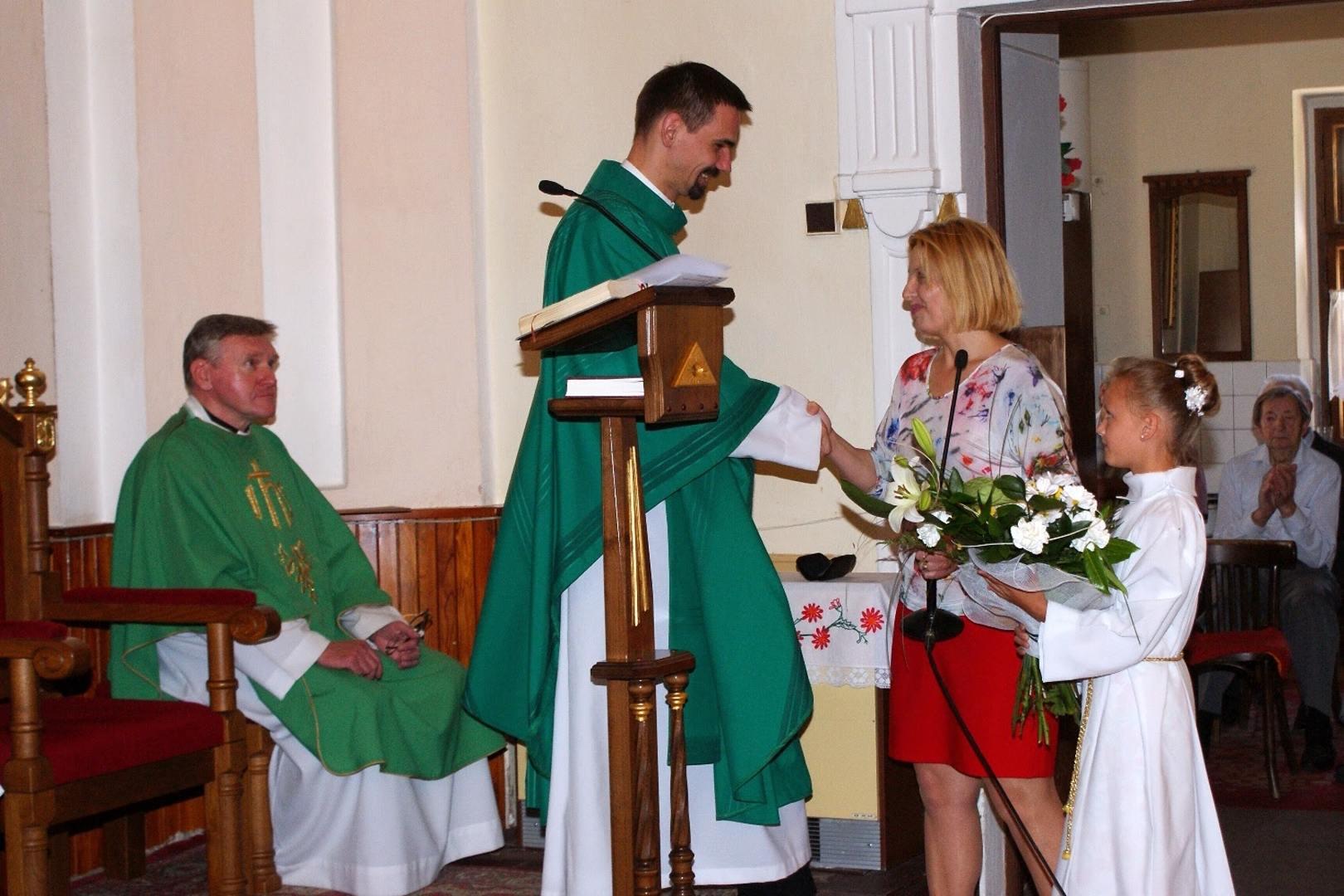 Svätá omša s požehnaním novokňaza vdp. Juraja Musila