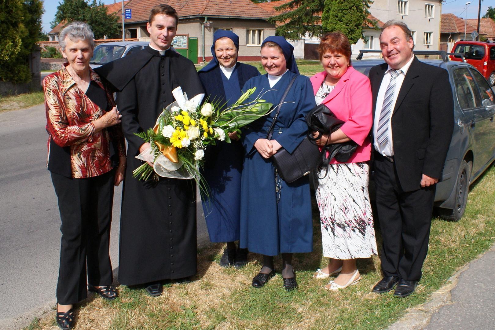 Novokňazské požehnanie od vdp. Jozefa Plutinského