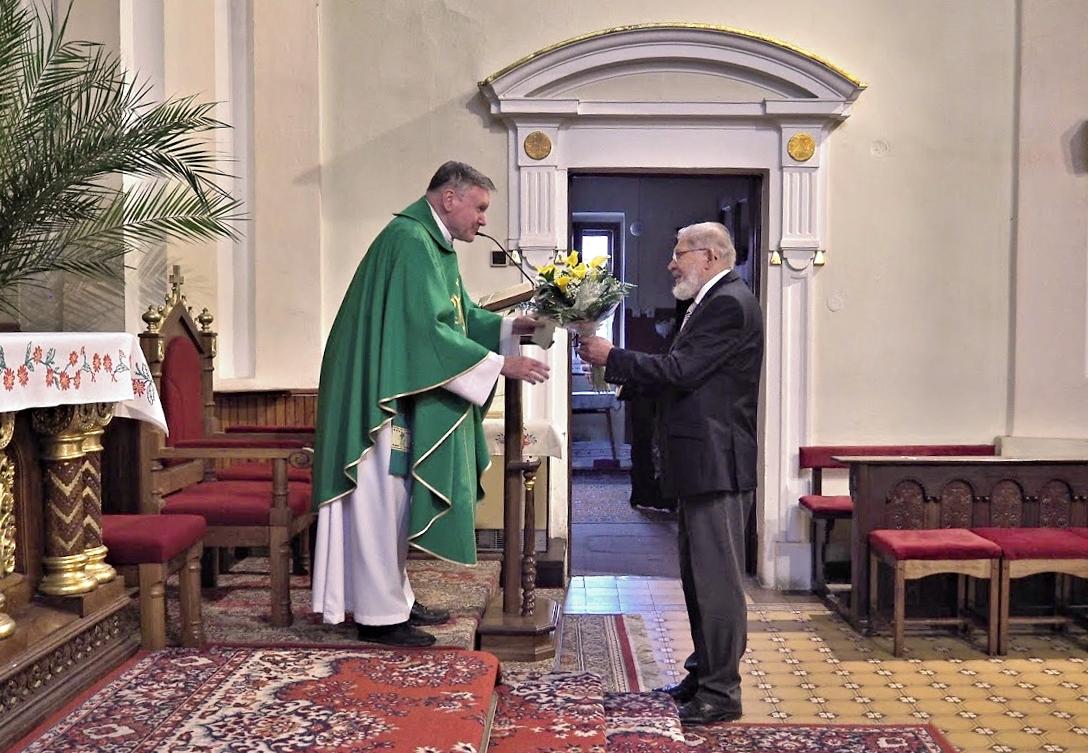 Chynorany - 35. výročie kňazskej vysviacky 16. jún 2020