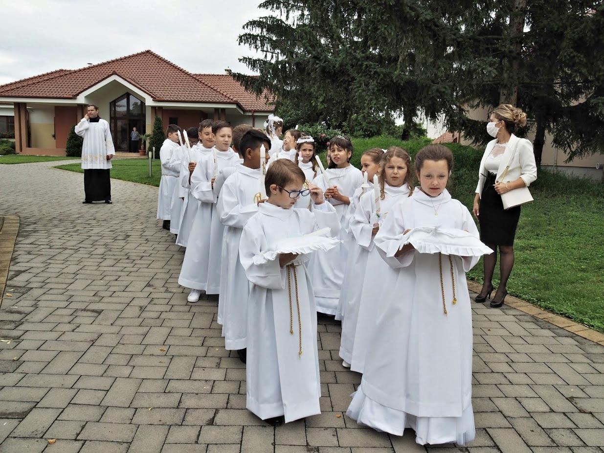 Chynortany - Prvé sväté prijímanie 21. jún 2020