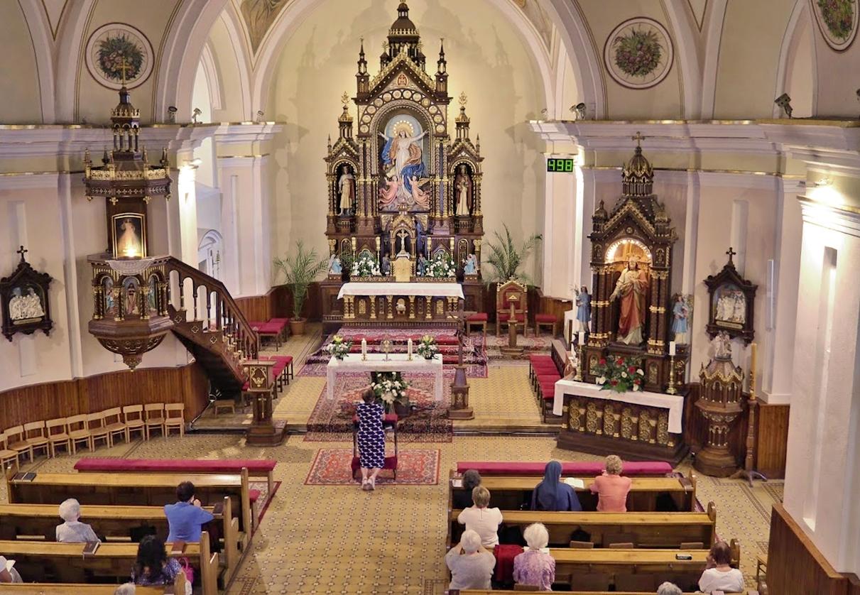 Chynorany - Poklona k najsvätejšej Sviatosti oltárnej -9. júla 2020